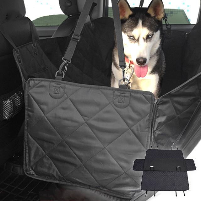 ペット用ドライブシート 犬 アウトドア 後部座席用 ペットシート ボックス形