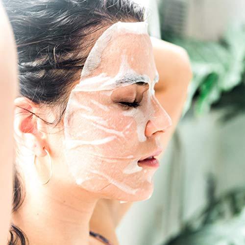 オーガニックシートマスク使用例 エッセンス入りフェイスパック ORGAID オーガエイド