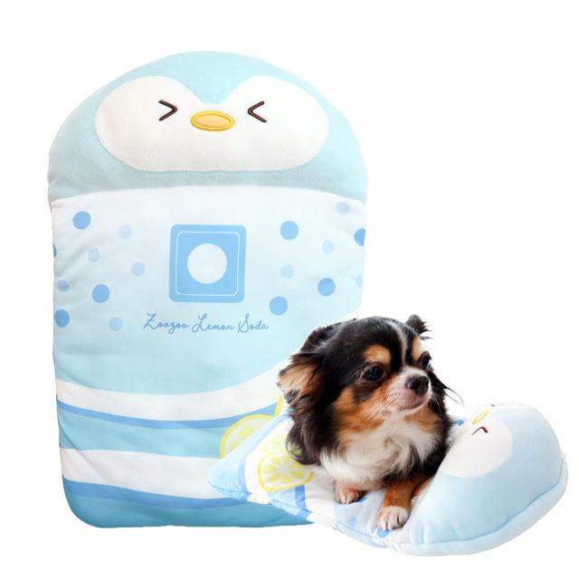 小型犬・猫用 ひんやりグッズ 氷まくら ペンちゃんソーダ 氷嚢クッション ペッツルート