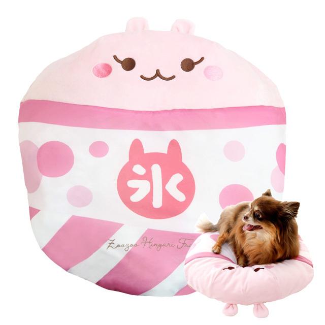 小型犬・猫用 ひんやりグッズ 氷ベッド うさちゃんベリー 氷嚢クッション ペッツルート