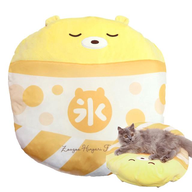 小型犬・猫用 ひんやりグッズ 氷ベッド くまちゃんまんごー 氷嚢クッション ペッツルート