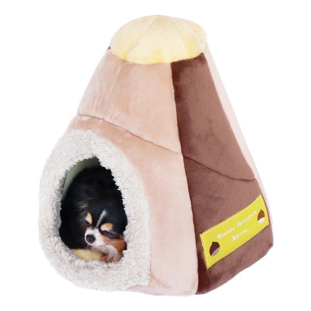 犬猫 ペットハウス ほいっぷデコケーキ2Way マロン ペッツルート