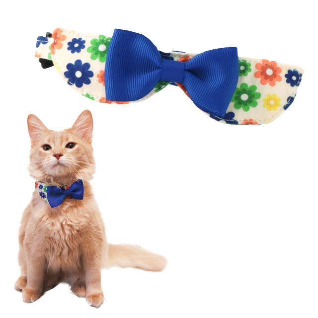 猫 首輪 にゃんカラー ミヌ フラワーリボン ペッツルート