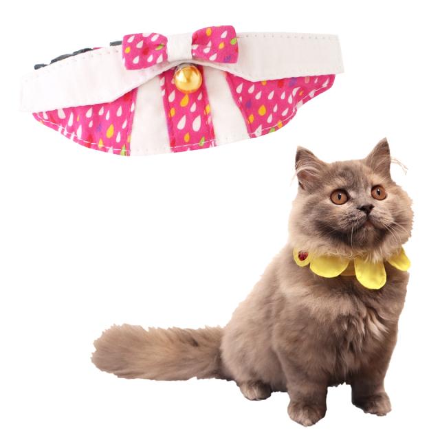 猫 首輪 にゃんカラー ミヌ しずくリボン ペッツルート