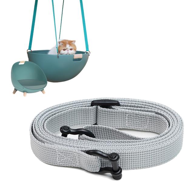 猫用ソファ 温度調整可能なペットのマルチベッド用吊り下げベルト ネコ HEBENA