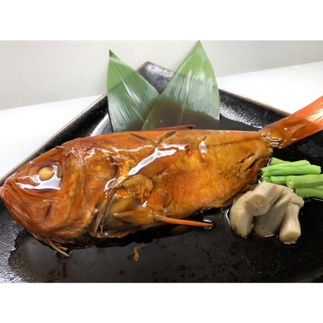 静岡県伊豆下田産 最高級地金目鯛の姿煮 調理例
