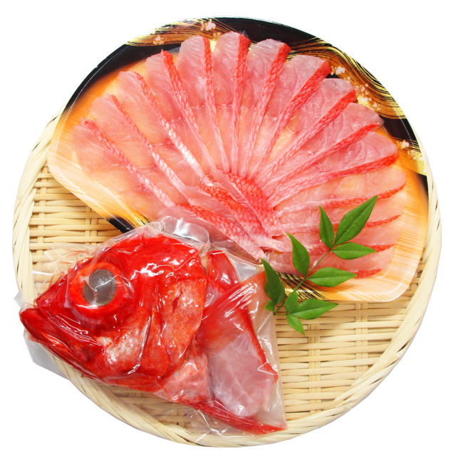 静岡県伊豆下田産 金目鯛のしゃぶしゃぶと兜煮ハーフセット