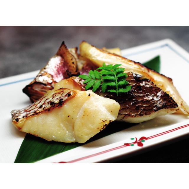 静岡県伊豆下田産 真鯛の切り落とし訳ありセット調理例
