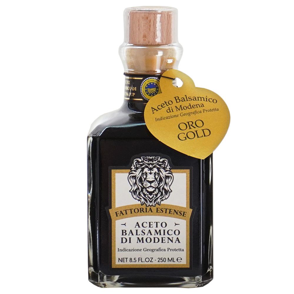 alico モデナ産(イタリア) バルサミコ酢 ゴールド 250ml瓶正面 醸造酢 Aceto Balsamico
