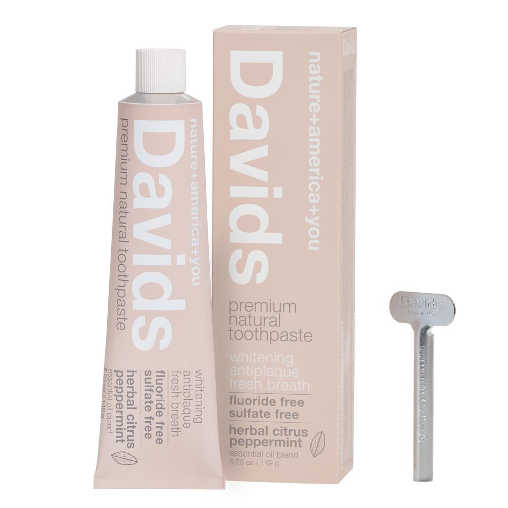 Davidsホワイトニング歯磨き粉 ハーバルシトラスミント149g トゥースペースト