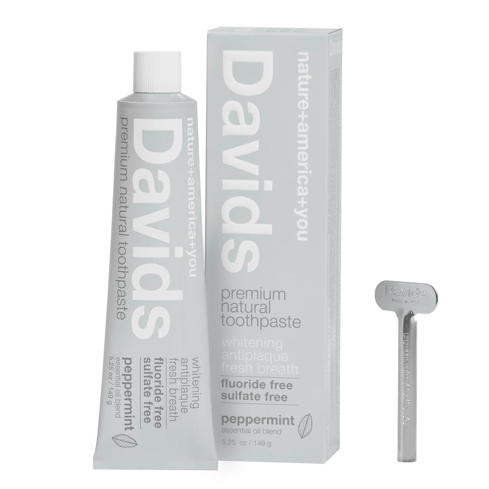 Davidsホワイトニング歯磨き粉 ペパーミント149g トゥースペースト