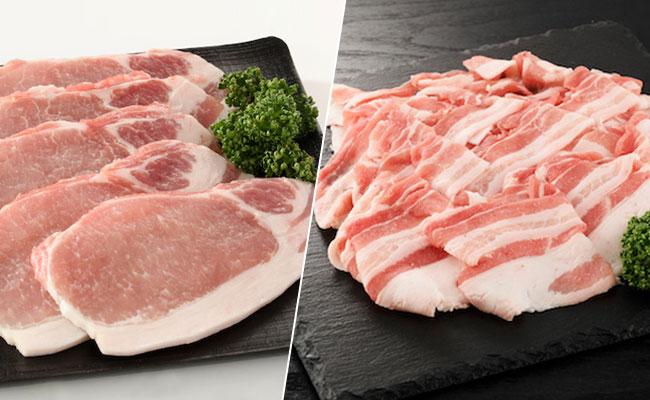大分県産豚ロース バラ 生姜焼き用