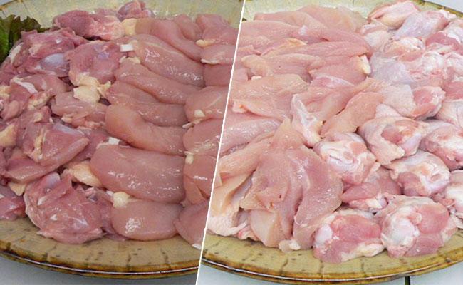 九州産若鳥めいっぱい(モモ,ムネ,手羽元,ササミ) 4kg(各500g×2パック)
