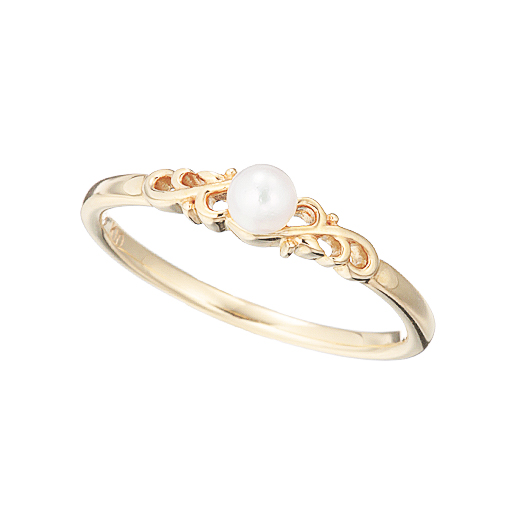 【Pinky】 Pearl Ring