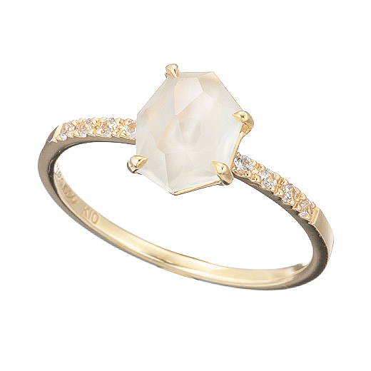 【Natural】 Moonstone Ring