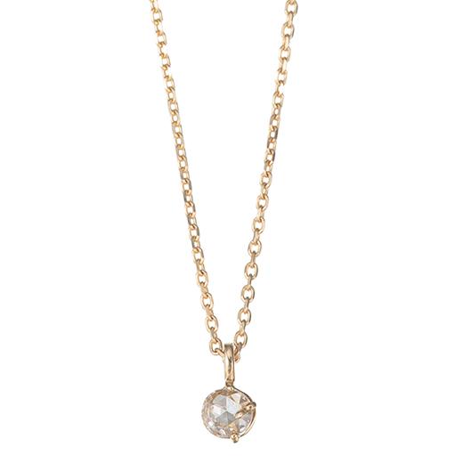 【Precious】ダイヤ ネックレス スプラウト