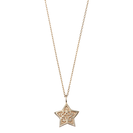【Plain】Star Necklace