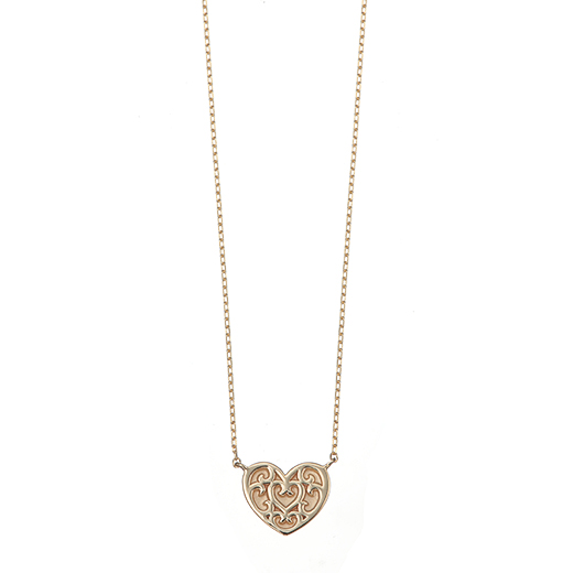 【Plain】Heart Necklace