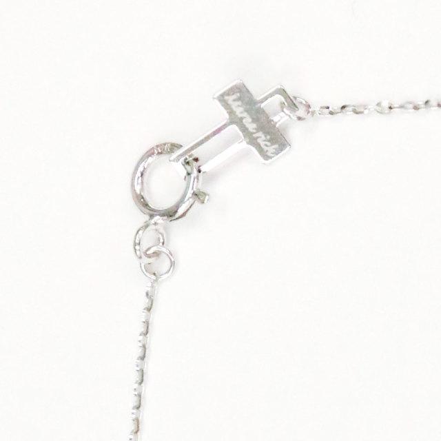 1粒 ダイヤ コンビネーション ネックレス