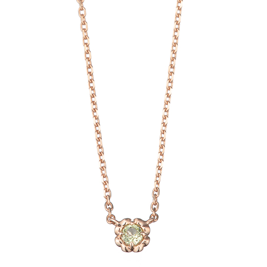 【Birthday Necklace】 August