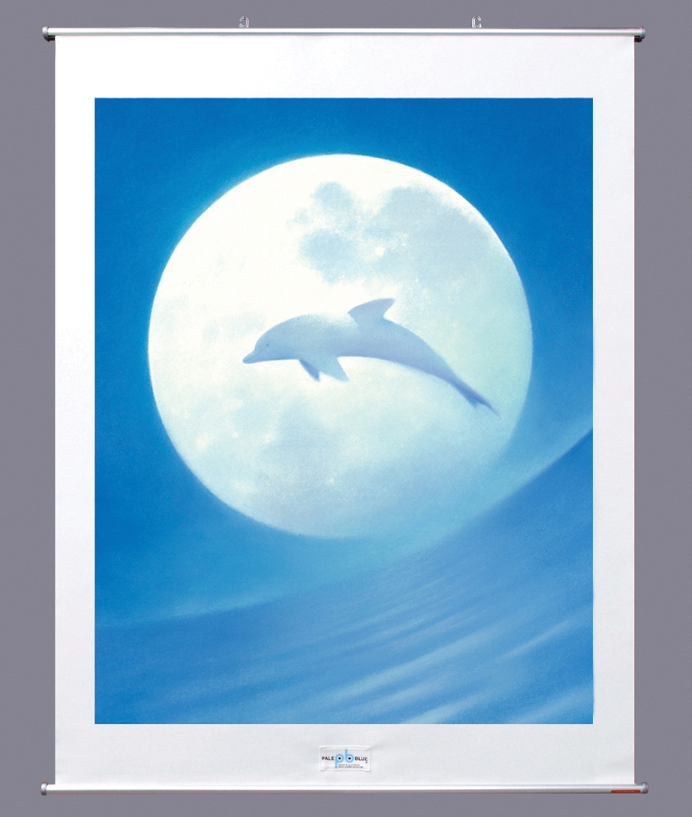 【タペストリー(90cm)】 明るい月の夜