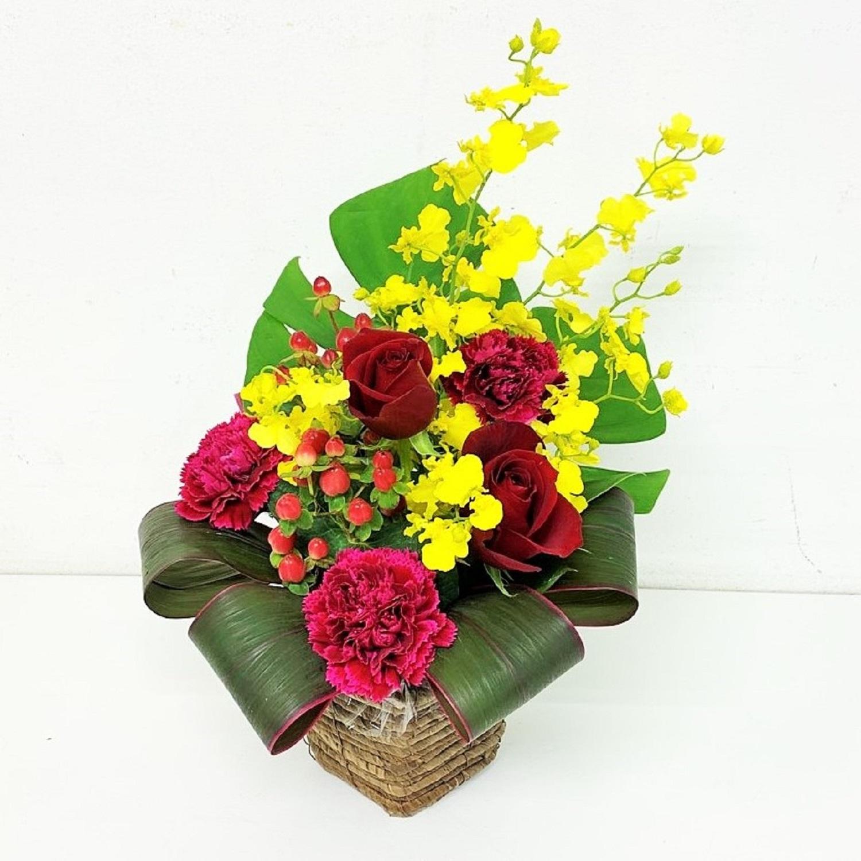 赤 黄色 誕生日 結婚記念日 移転祝 劇場 発表会 M