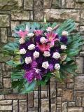 1171 バラ・トルコ 紫 スタンド花1段