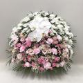 3316 【供花】スフェアアレンジメントP 胡蝶蘭入り(H75) Cスタイル