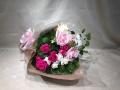 3440 薄ピンク×濃ピンク系 Cスタイル 花束