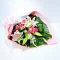 ピンク系 スタンダード花束