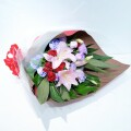 ピンク×パープル スタンダード 花束