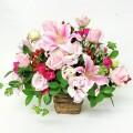 誕生日 結婚記念日 歓送迎 劇場 発表会 ピンク バラM