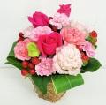 ピンク 誕生日 結婚記念日 歓送迎 劇場 発表会 S