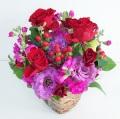 赤 紫 お誕生日 結婚記念日 歓送迎 劇場 発表会 S