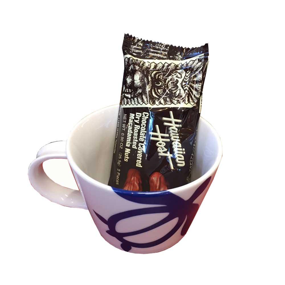 ギフトセット 「ハワイアンホヌマグカップ&マカダミアンナッツチョコレートセット」