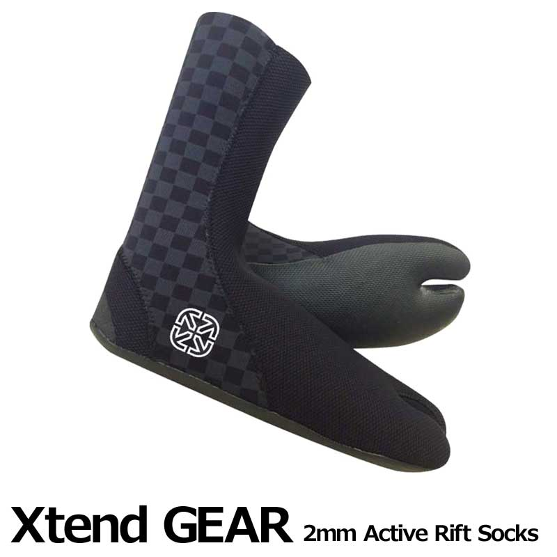 Xtend GEAR サーフブーツ 2mm Active Rift Socks