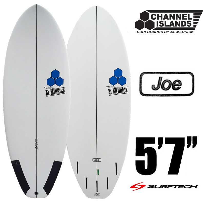 チャネルアイランドサーフボード SURFTECH AVERAGE JOE サーフテック アベレージジョー 5'7 CHANNEL ISLAN