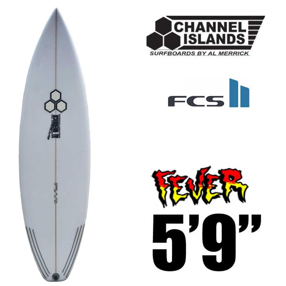 """サーフボードCHANNEL ISLANDS チャンネルアイランド The Sampler 5'9""""◆PUショートボード 3フィン FCS2 アルメリック"""