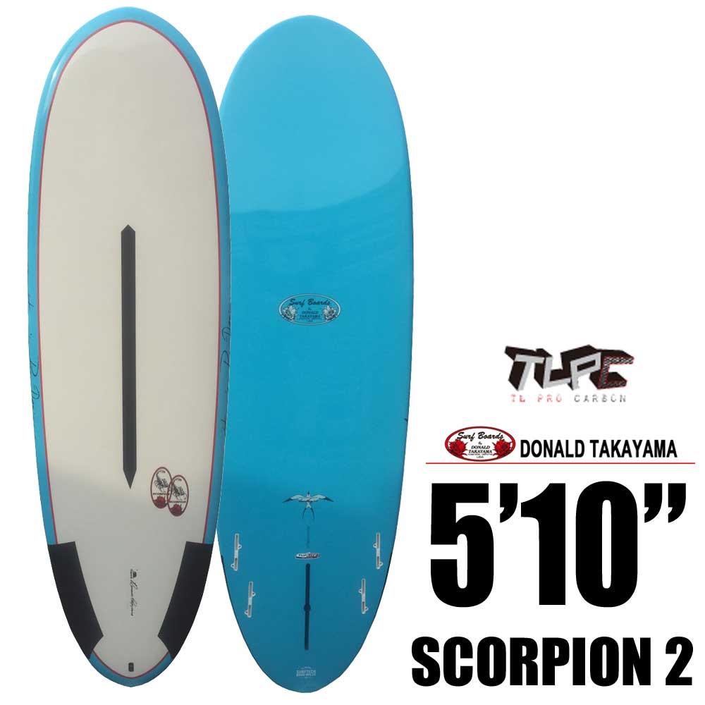 Hawaiian Pro Designs ドナルドタカヤマ SURFTECH SCORPION 2 5'10