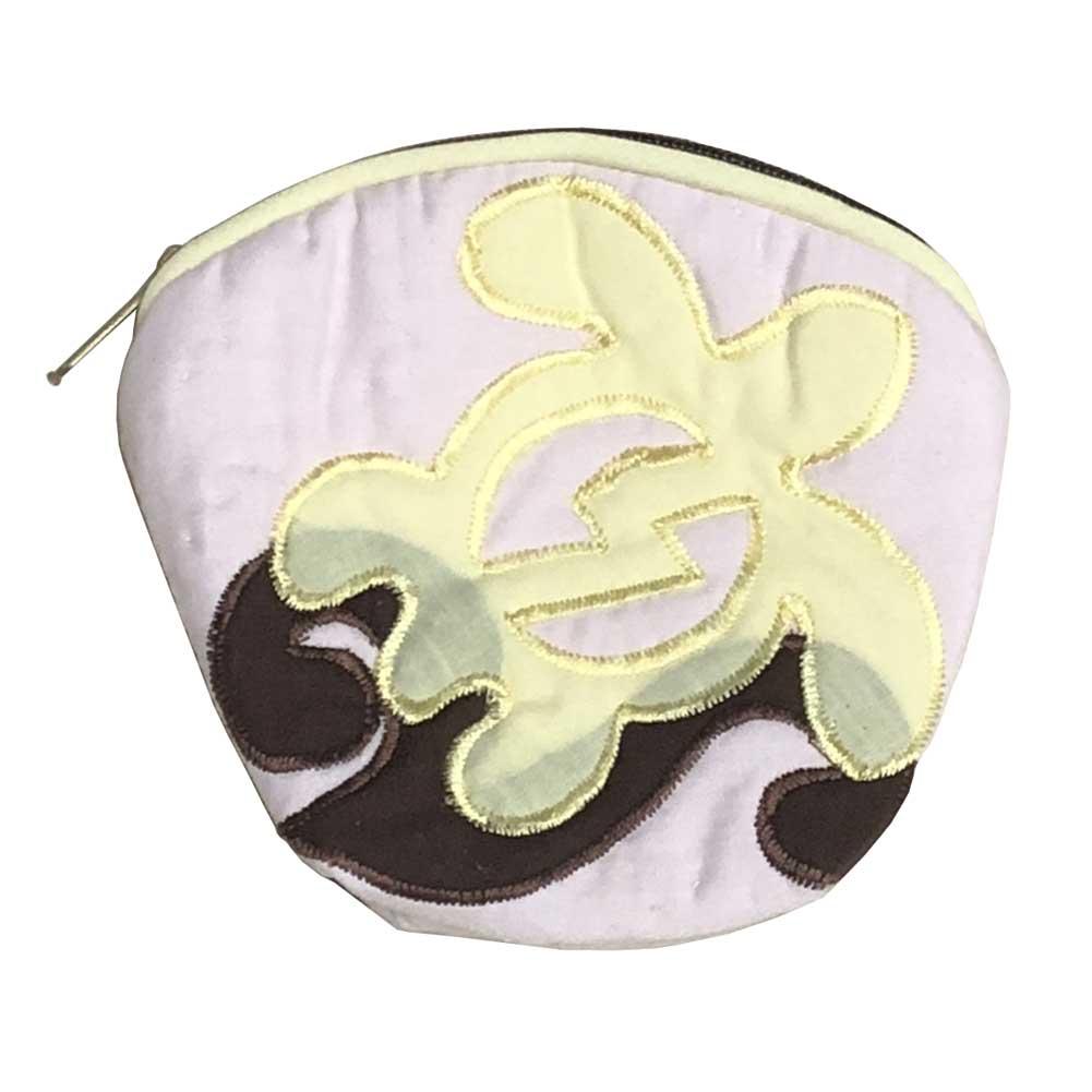 ハワイアンキルト Hawaiian Quilt ホヌ柄コインケース /財布 小銭入れ 小物入れ
