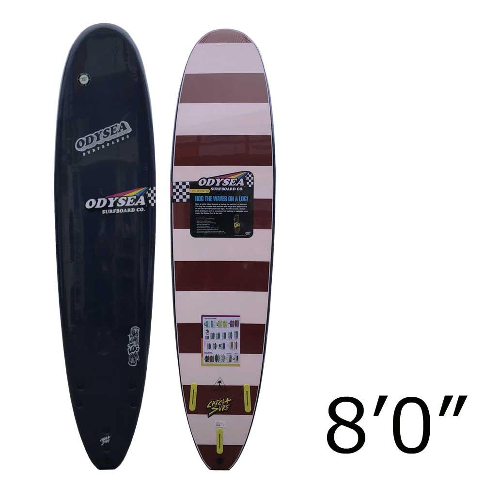 ソフトサーフボード CATCH SURF LOG 8'0 NAVY/キャッチサーフ ログ ソフトボード ファンボード サーフィン