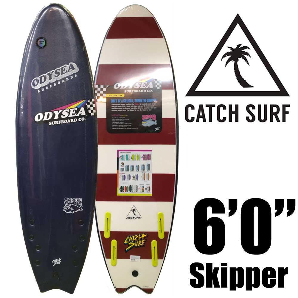 ソフトサーフボード CATCH SURF OODYSEA 6.0 SKIPPER QUAD MIDNIGHT BLUE NAVY