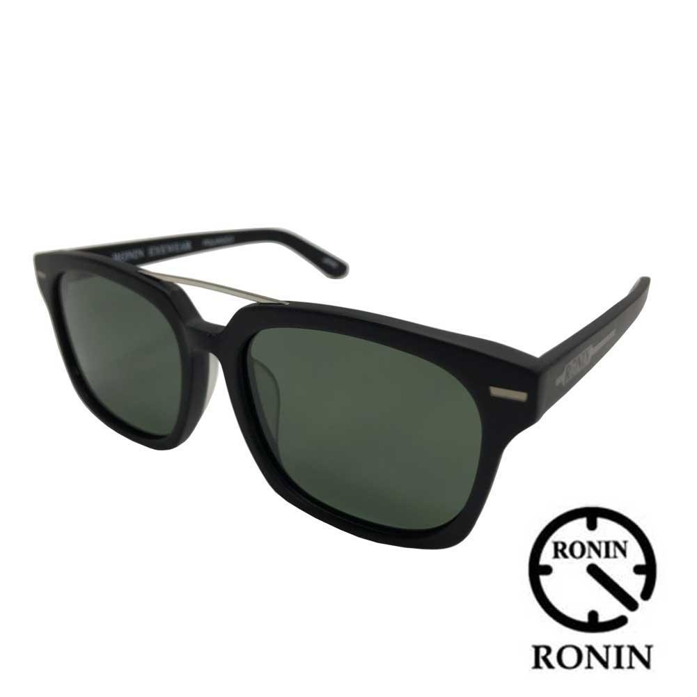 RONIN GATES ロニン サングラス ゲート フレームカラー マットブラック/偏光レンズ アイウェア