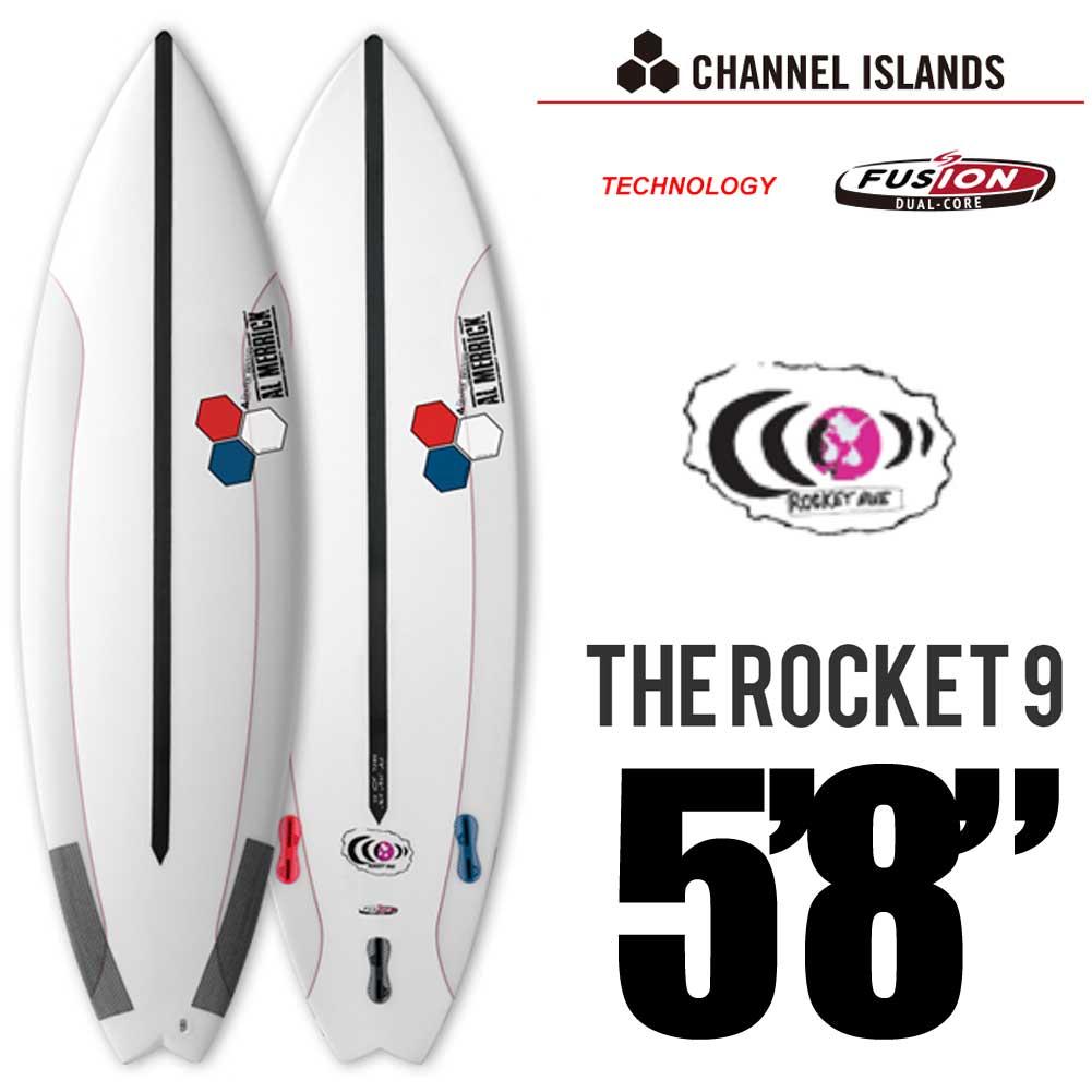SURFTECH CHANNEL ISLANDS チャネルアイランズ ROCKET  9  5'8