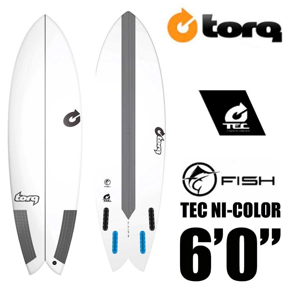 TORQ Surfboard トルクサーフボード TEC FISH 6'0 EPS