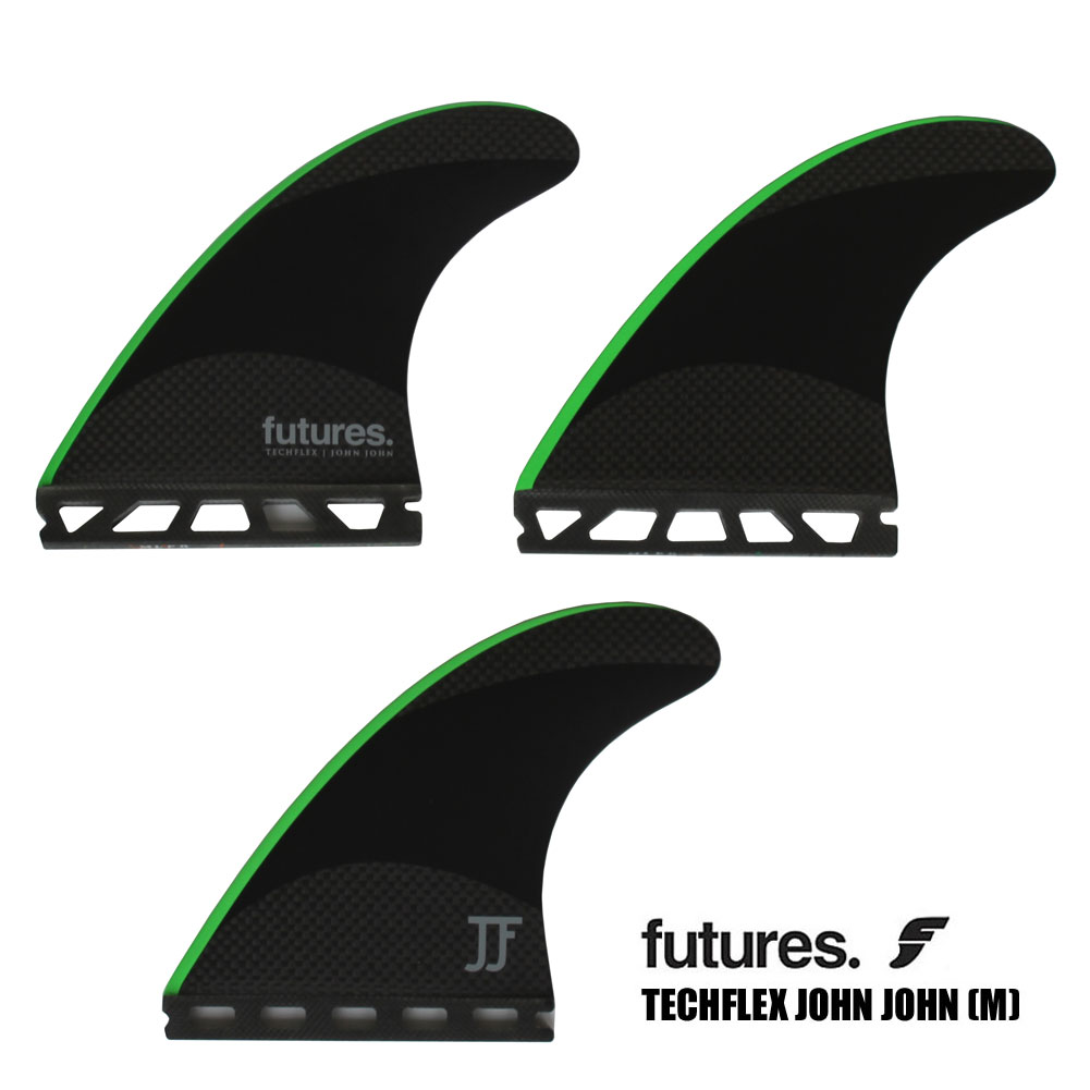 ジョンジョンフローレンス シグネーチャーフィン テックフレックス ミディアム FUTURS FIN TECHFLEX 2.0 TECH FLEX JOHN JOHN MIDIUM
