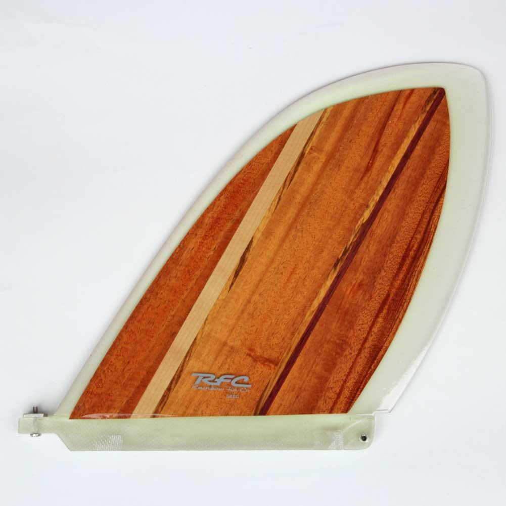 ロングボードフィン レインボーフィン スケッグ ベルジー 8.5 クラシックウッドシリーズ