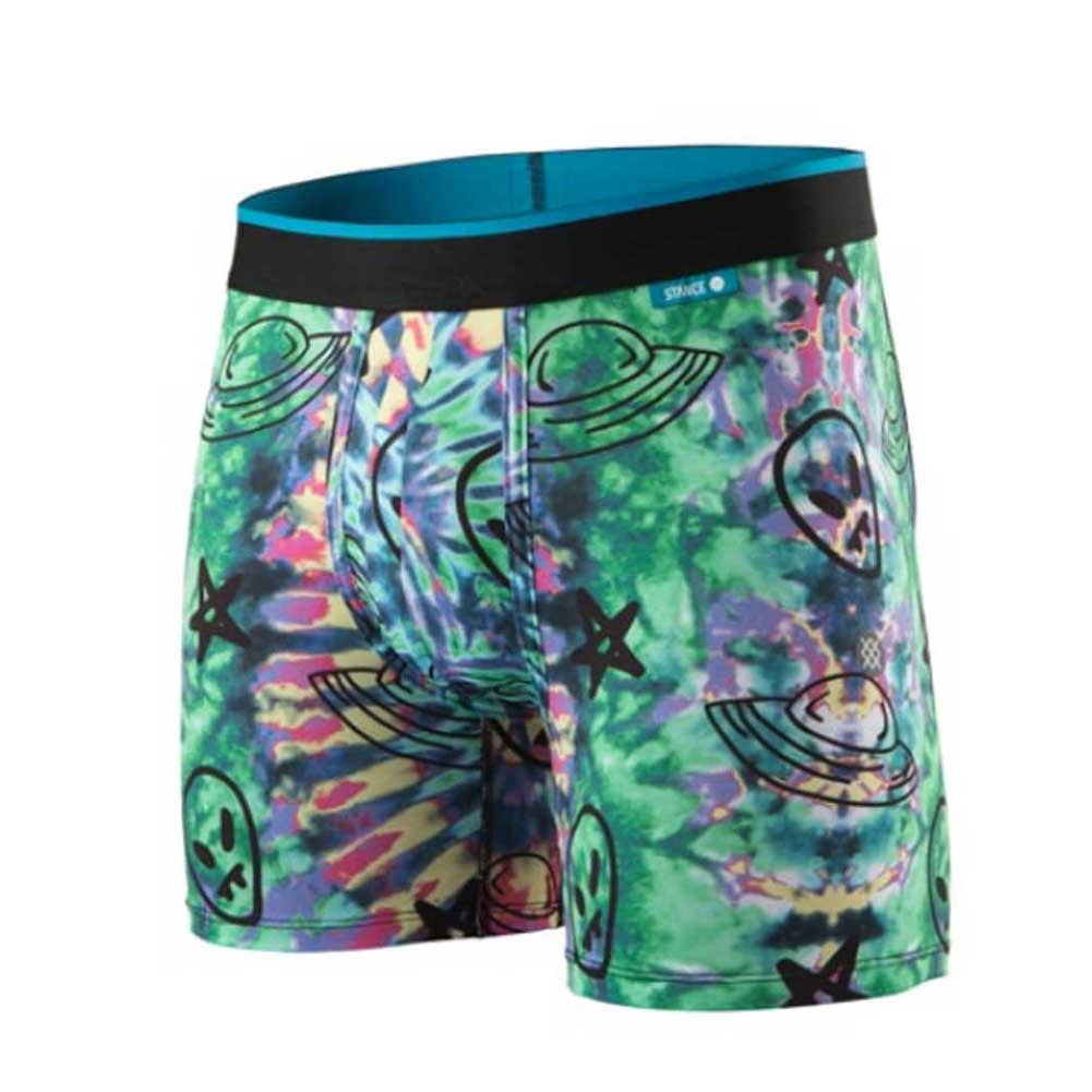 STANCE MENS UNDERWEAR THE WHOLESTER UFO TIEDYE WH PORYBLEND