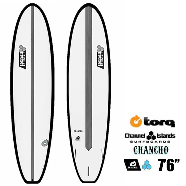 ファンボード TORQ SurfBoard トルク サーフボード CHANCHO 7'6 日本限定カラー