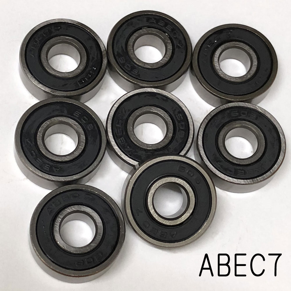 スケボー スケートボード ベアリング HIGH SPEED ABEC7 OIL TYPE  ABEC7 805 8個セット